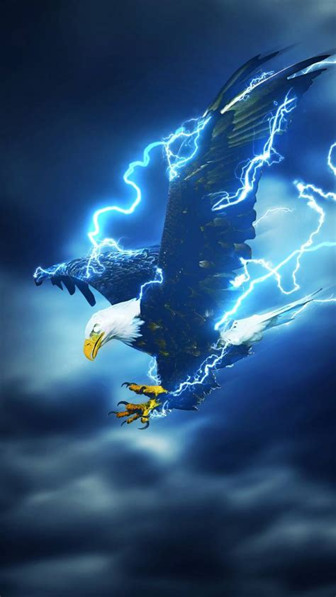 Lightning eagle wallpaper by skyeeagle6 - c7 - Free on ZEDGE™
