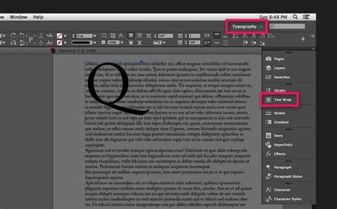 Wrap text around images and graphics in InDesign | Adobe