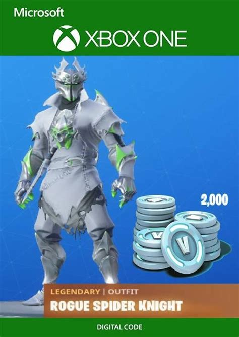 Fortnite: Legendary Rogue Spider Knight Outfit + 2000 V