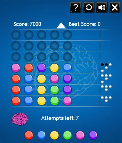 Play Mastermind Online for free!