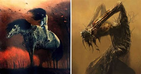 19 Terrifying Visions Of Hell By A Murdered Polish Painter