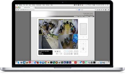 View IP Cameras from Mac App