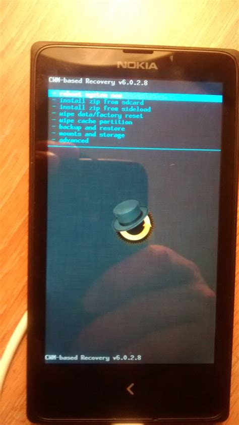How to Flash a Custom Recovery on the Nokia X