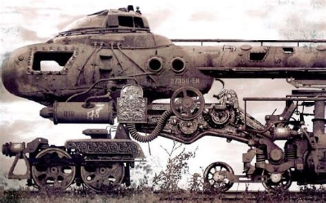 Amazing Steampunk Locomotives - Earthly Mission