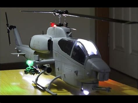 Roban Model AH-1W SuperCobra RC Helicopter OverView - YouTube