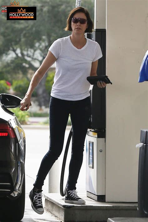 Charlize Theron Gets Tactical Training - For Next Movie