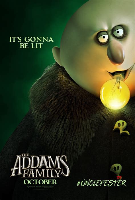 The Addams Family Movie Character HD Posters - Social News