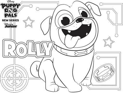 Rolly Coloring Page Family Activity | Disney Family