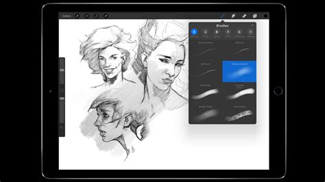 Procreate sketching app updated for new iPad Pros, major