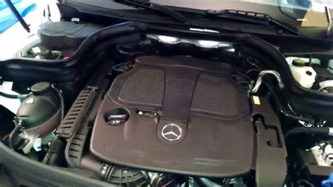 Mercedes Benz GLK350 under the hood by froggy - YouTube