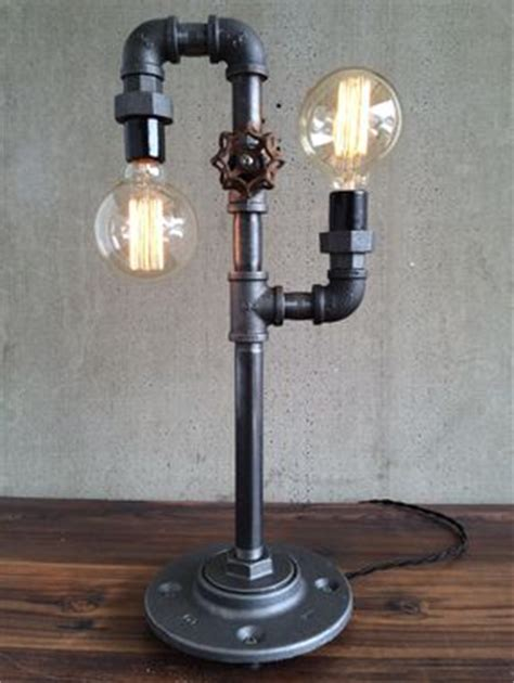 Buy a Hand Crafted Industrial Edison Bulb Light - Iron