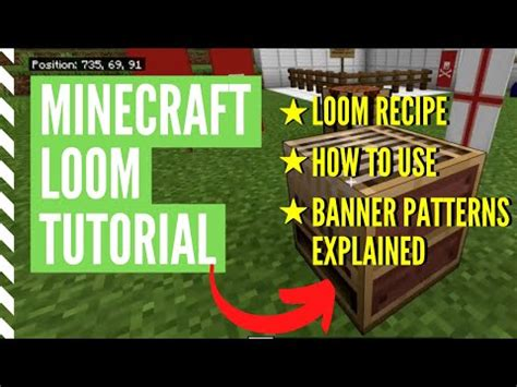 How To Make (And Use) A Loom In Minecraft – Minecraft How To