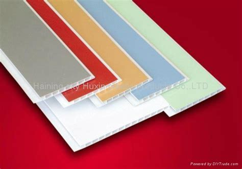 PVC Tongue and Groove Ceiling Panel Colors - HX-PVC-015