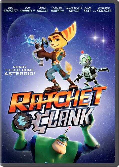 Ratchet and Clank DVD Release Date August 23, 2016